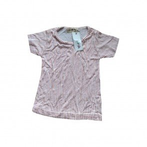 lumik-Lumik Peach Stripes Tee-