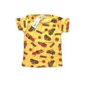 lumik-Yellow Car Tee-