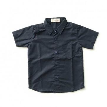 lumik-Navy Baby Shirt-