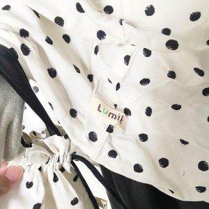 lumik-White Dots Mukena-
