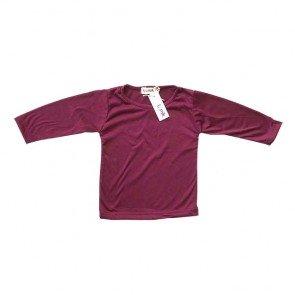 lumik-Maroon Long Sleeves-
