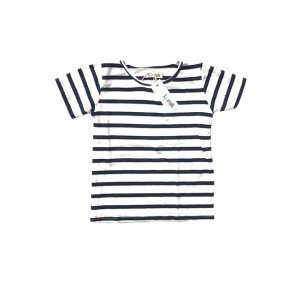 lumik-Navy Stripes Tee-