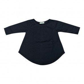 lumik-Lumik Black Plain Girly Long Sleeve-