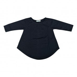 lumik-Lumik Black Plain Girly Long Sleeve-