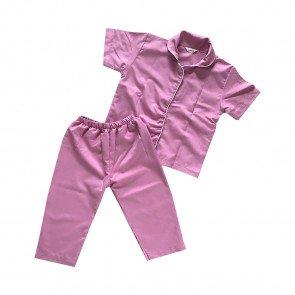 lumik-Lumik Pajamas Dusty Pink Plain-