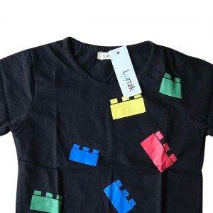 lumik-Lumik Black Lego Tee Special Store-