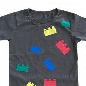 lumik-Lumik Grey Lego Tee Special Store-