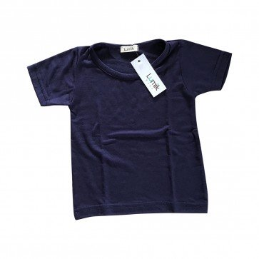 lumik-Lumik Navy Plain Tee-