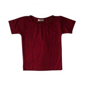 lumik-Plain Red Tee-
