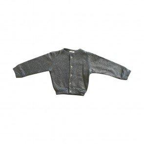 lumik-Lumik Silver Glitery Cardigan-