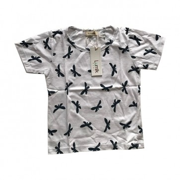 lumik-White Butterfly Tee Special Store-