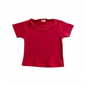 lumik-Lumik Red Plain Tee Basic-