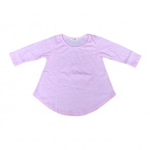 lumik-Lumik Pink Plain Girly Long Sleeve-
