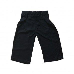 lumik-Lumik Black Plain Kulot Pants-