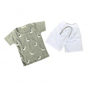 lumik-Lumik Grey Horse Baju Set-