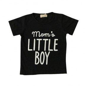 lumik-Momas Lil Boy Black Tee Special Store-