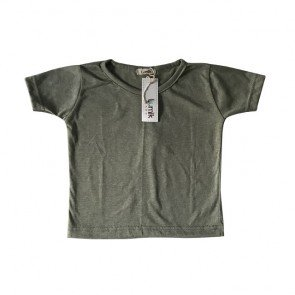 lumik-Plain Green Tee-