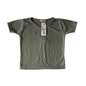 lumik-Plain Green Tee-