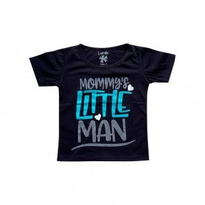 lumik-Lumik Black Mommy's Little Man Tee Special Store-