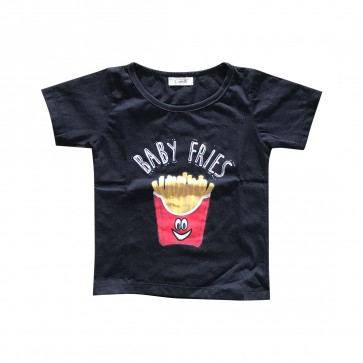 lumik-Lumik Black Fries Tee Special Store-