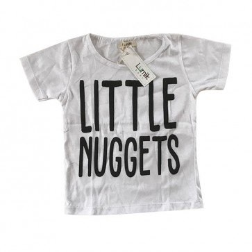 lumik-Little Nuggets White Tee Special Store-