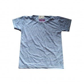 lumik-Lumik Light Blue Stripe Tee-