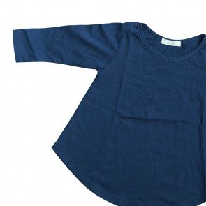 lumik-Lumik Navy Plain Girly Long Sleeve-