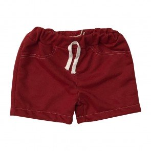 lumik-Lumik Maroon Plain Short-