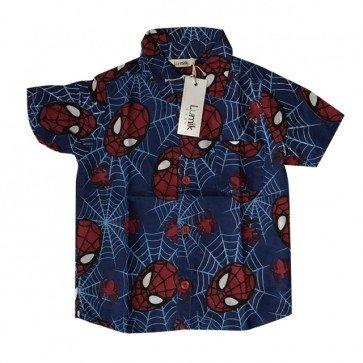 lumik-Blue Spidy Baby Shirt-