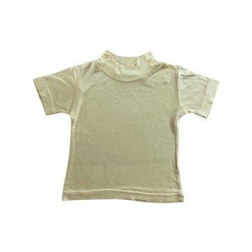 lumik-Lumik Yellow Plain Turtleneck Tee -