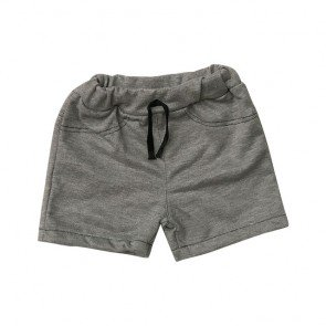 lumik-Grey Plain Short-