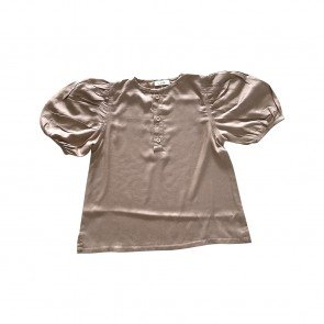 lumik-Lumik Brown Plain Boba Blouse-