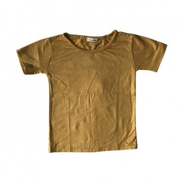 lumik-Plain Yellow Tee-