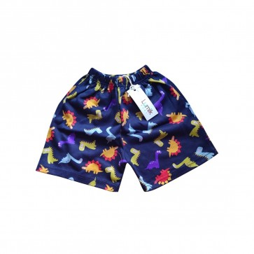 lumik-Lumik Navy Dino Short-
