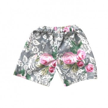 lumik-Grey Flora Short-