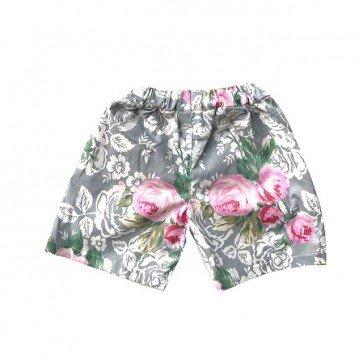 lumik-Grey Flora Short-