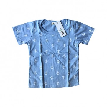 lumik-Blue Anchor Tee Special Store-