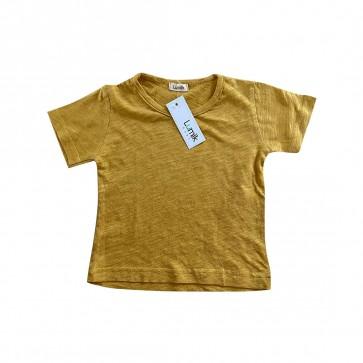 lumik-Lumik Yellow Plain Tee Basic-