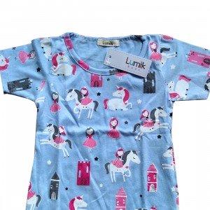 lumik-Lumik Blue Unicorn Tee Special Store-