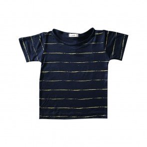 lumik-Lumik Big Navy Stripes Tee-