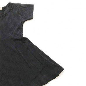 lumik-Black Simply Dress-