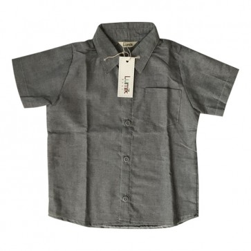 lumik-Grey Baby Shirt-
