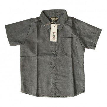 lumik-Grey Baby Shirt-