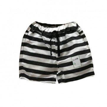 lumik-White Stripes Short-