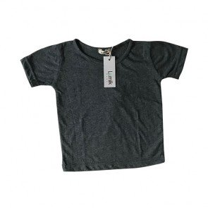 lumik-Plain Grey Tee-