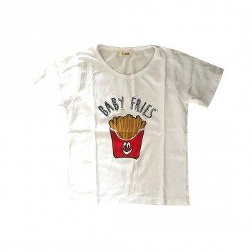 lumik-Lumik White Fries Tee Special Store-