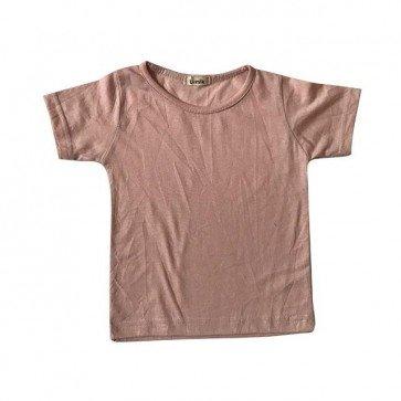lumik-Dusty Pink Tee-