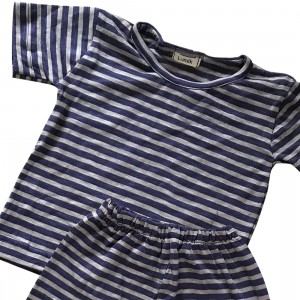 lumik-Lumik Purple Stripe Pajamas-