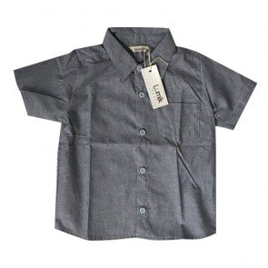 lumik-Light Denim Baby Shirt-